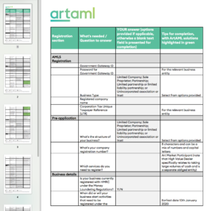 Thumbnail image of PDF guide showing multiple pages on left and spreadsheet on right